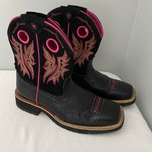 Ariat Fatbaby Boots Sz 6 Excellent Condition!!